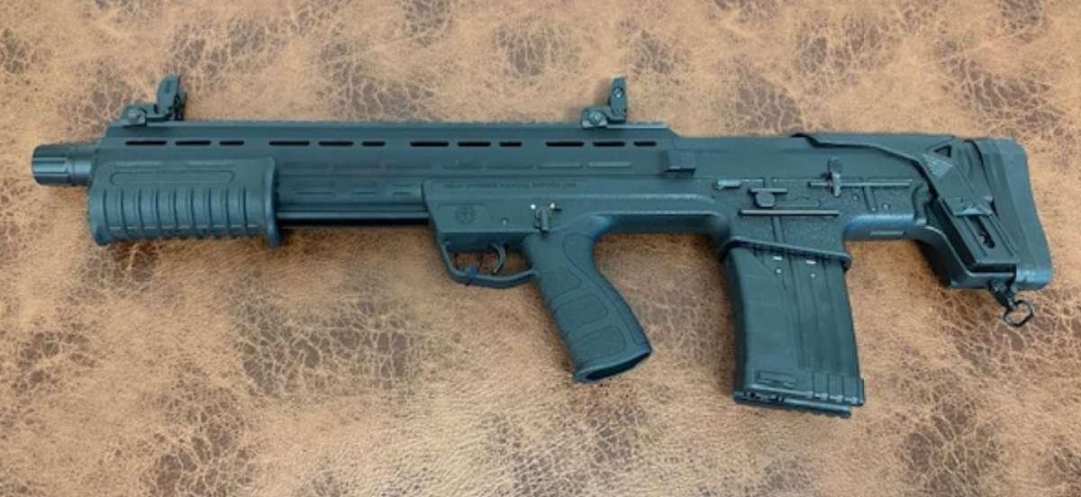 Fear109 Fear 109 Black Bullpup 20 5 1 12 Gauge Pump Shotgun Gzd Com Inc